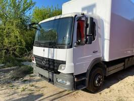 bakwagen vrachtwagen Mercedes-Benz Atego 1224 4x2 Box Truck - Left Hand 2010