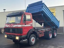 kipper vrachtwagen > 7.5 t Mercedes-Benz 2628 Kipper 6x4 V8 ZF Good Condition 1989