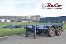 container chassis oplegger Renders ROC 12.18 CC 20 - SAF AXLES - DRUM BRAKES - 1992