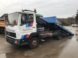 autotransporter vrachtwagen Mercedes-Benz 814 **6CYL-SCHUIFPLATEAU-BELGIAN TRUCK** 1991