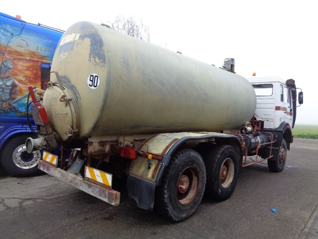 Opbouw vrachtwagen onderdeel Diversen Occ Tankwagen opbouw 10.000l