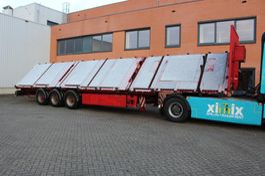 platte oplegger Schmidt 3-ass. Schuinlader // Naloop gestuurd 2010