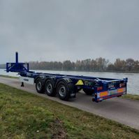 container chassis oplegger Van Hool 40ft kipchassis