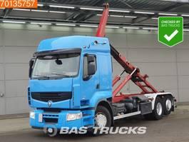 containersysteem vrachtwagen Renault Premium 460 DXI 6X2 Lift-Steering Axle EEV 2006