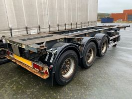 container chassis oplegger LAG LAG 20 / 30 ft containerchassis 1992