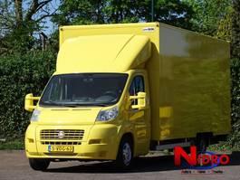 gesloten bestelwagen Fiat DUCATO LONG AC BE LICENSE LOAD CAP 1210 kg MOVING VAN 2009