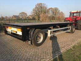 platte aanhanger vrachtwagen Pacton AXD 218 1994