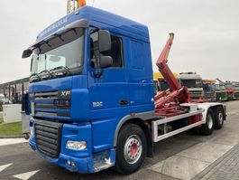 containersysteem vrachtwagen DAF XF 105.460 6X2 MANUAL RETARDER EURO 5 + HYVALIFT HOOK 2008