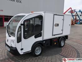 bakwagen vrachtwagen Goupil G3 Electric Utility Closed Isolated Box Van Tipper 2015