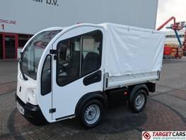 bakwagen vrachtwagen Goupil G3 Electric Utility Platform Tarp Covered Van 2013