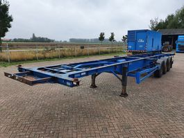 container chassis oplegger HFW 2x20 - 40 - 45FT / 4245KG 2002