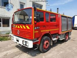 brandweerwagen vrachtwagen Renault G230 - Manual Gear - NEW CONDITION 1990