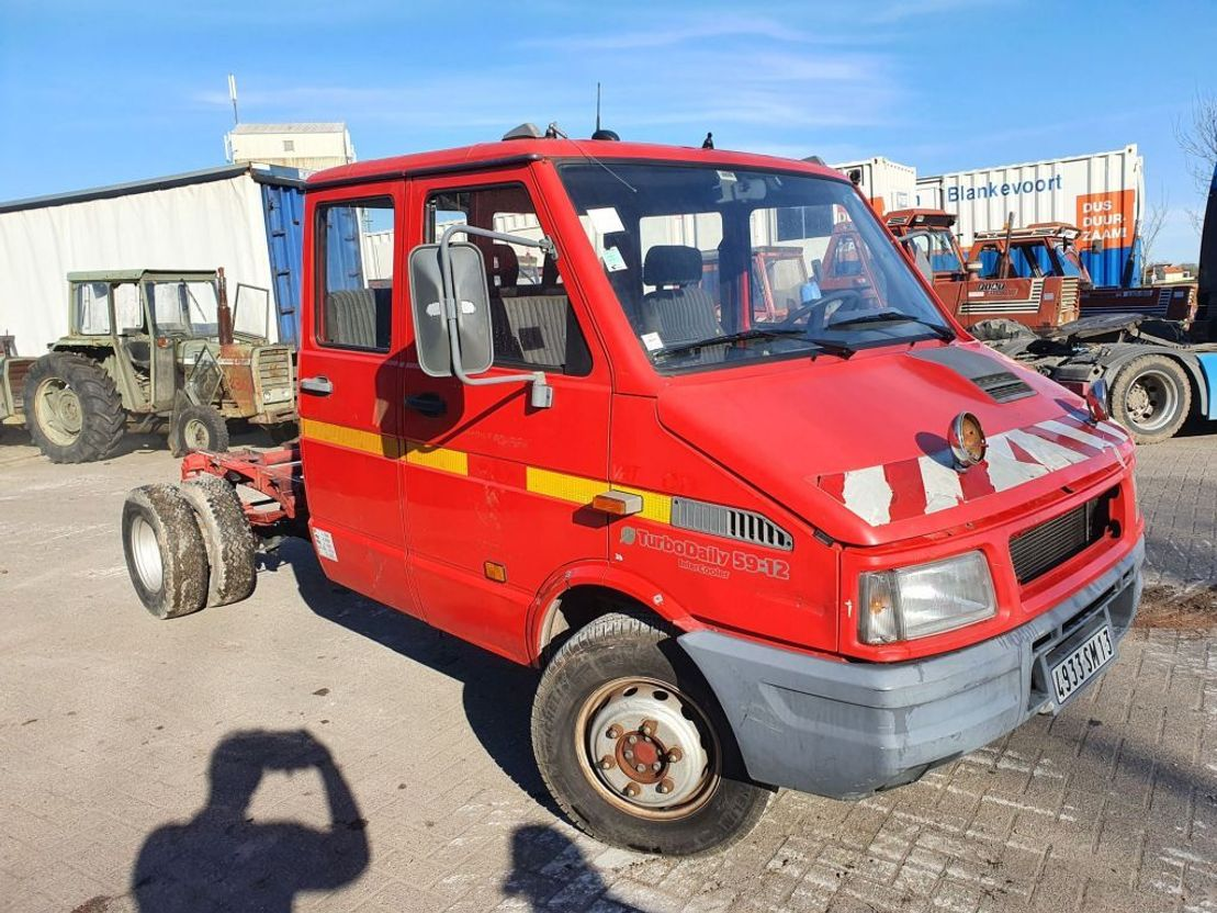 takelwagen-bergingswagen-vrachtwagen Iveco TurboDaily 59-12 intercooler 1995