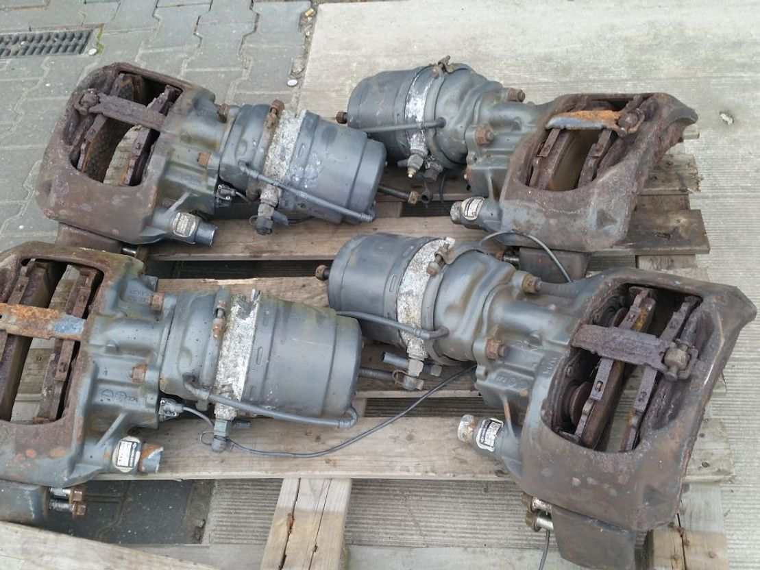 chassis vrachtwagen onderdeel DAF rem klauwen