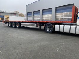 open laadbak oplegger Pacton TXL 339, Alu Bordwand, Rungen, TUV, Hard-wood Floor. 1996