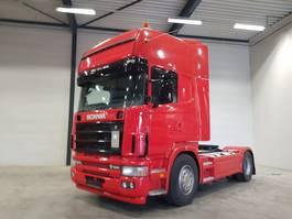 standaard trekker Scania scania 164L 580  4x2 topline / Retarder / manual 2003