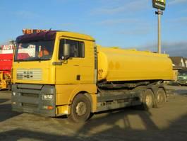 tankwagen vrachtwagen MAN TGA 26.360 6x2 Tankwagen 3 Kammern/18.900 ltr 2001