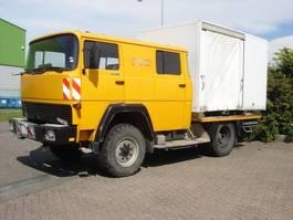 open laadbak vrachtwagen Magirus magirus deutz 913 luchtgekoeld crewcab 4x4 1984