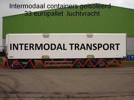 geisoleerde zeecontainer intermodal 45 ft huckapack geisoleerd , luchtvracht , bloemenbreed