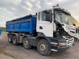 huifzeil vrachtwagen Scania R380 8X4 2008