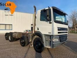chassis cabine vrachtwagen DAF CF 85.380 8X4 (Full Steel) EURO 3 2004
