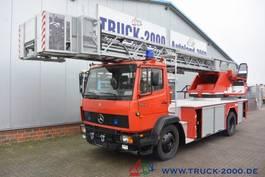autohoogwerker vrachtwagen Mercedes-Benz 1524 Metz Feuerwehr Leiter 30m Rettungskorb 1.Hd 1996