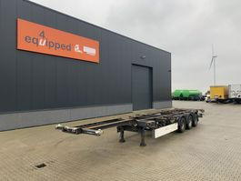 container chassis oplegger Schmitz Cargobull 40FT HC, BPW+drum, extendable, NL-chassis 2007
