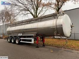 tankoplegger MAISONNEUVE Chemie 32428 liter, 4 bar, 125c, Isolated tank 1998