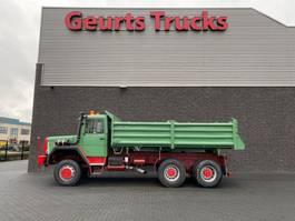 kipper vrachtwagen > 7.5 t Deutz MAGIRUS 6X6 KIPPER/TIPPER 1988