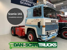 standaard trekker Scania LB141 4x2 completely restored Like New 1980