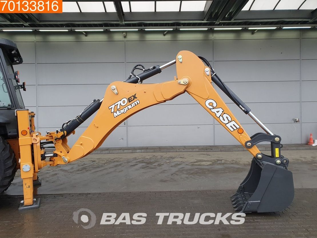 graaflaadmachine Case 770 EX MAGNUM 4x4 NEW UNUSED BACKHOES FOR SALE 2020