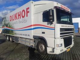 bakwagen vrachtwagen DAF 95 XF 430 SC 6X2 Euro 2 2001