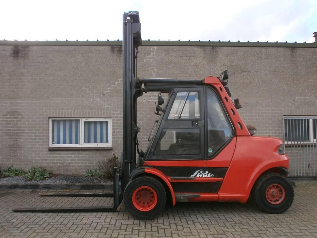 vorkheftruck Linde H80D / 900-02 (BJ 2002) heftruck 8000 KG 2002