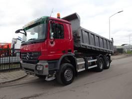kipper vrachtwagen > 7.5 t Mercedes-Benz ACTROS 3341 6X6 KIPPER / BLAD / TUV / EPS 3 PEDALS / LOW KM !! 2008