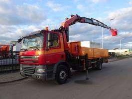 open laadbak vrachtwagen DAF 85 CF 360 + PALFINGER PK 23000 / MAN KORF / REMOTE CONTROL / LOW KM !! 2007