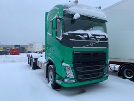 chassis cabine vrachtwagen Volvo FH480, 6x2, Full steel, Hub-redu., Man, Chassi 2018