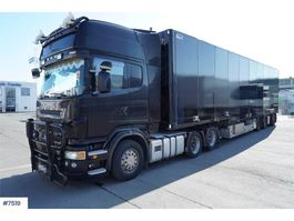 standaard trekker Scania R620 6x2 w / Ekeri jumbosemi WATCH VIDEO 2008