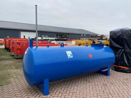 IBC-intermediate bulk container Kiwa IBC De Blesse 5000 liter dieseltank 2016