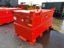 IBC-intermediate bulk container Tolsma Kiwa IBC 1600 liter dieseltank met keuring ! 2006