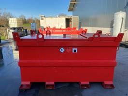 IBC-intermediate bulk container Tolsma Kiwa IBC 1600 liter dieseltank met keuring ! 2007