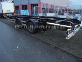 chassis aanhanger Krone ZZ Tandemlafette- SAF- Ersatzradhalterung 2013