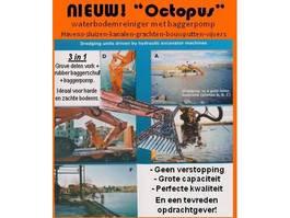 waterpomp machine Octopus waterbodemreiniger