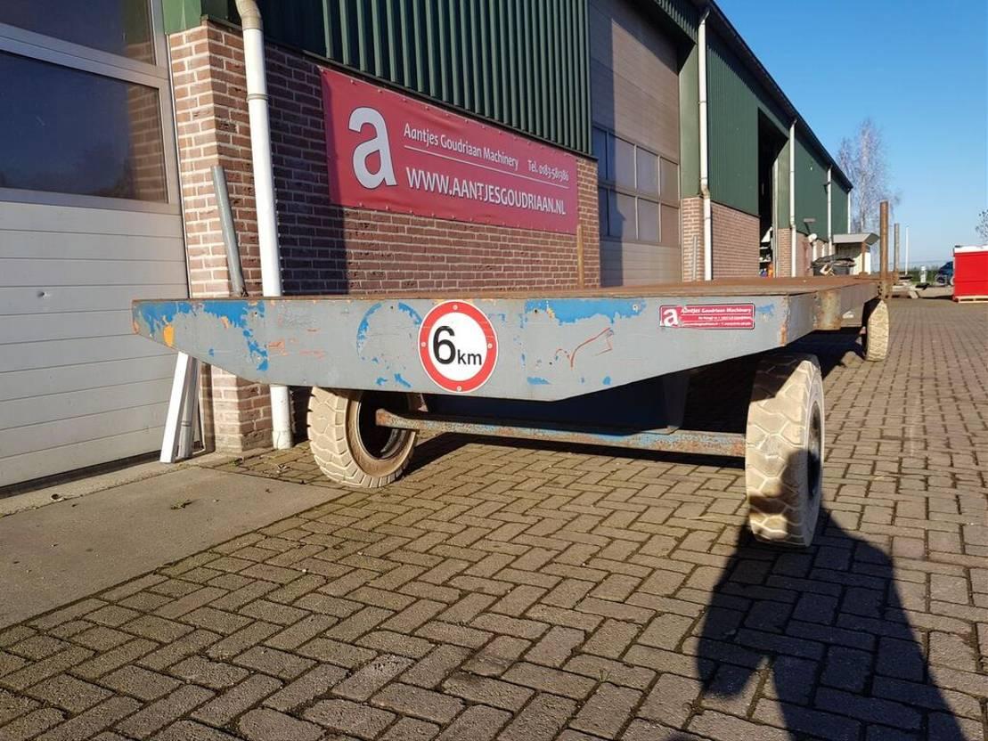 platte aanhanger vrachtwagen Diversen Industriewagen