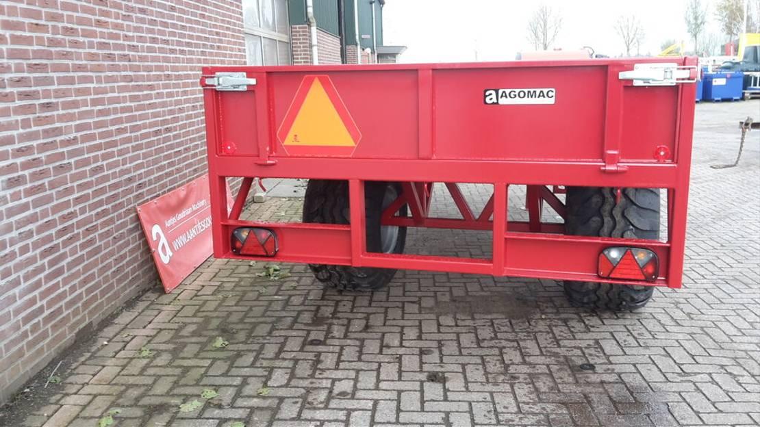 platte aanhanger vrachtwagen Diversen Bakkenwagen