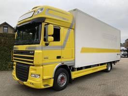 koelwagen vrachtwagen DAF FA XF105.410 FA EEV  Bloemen bak 2012