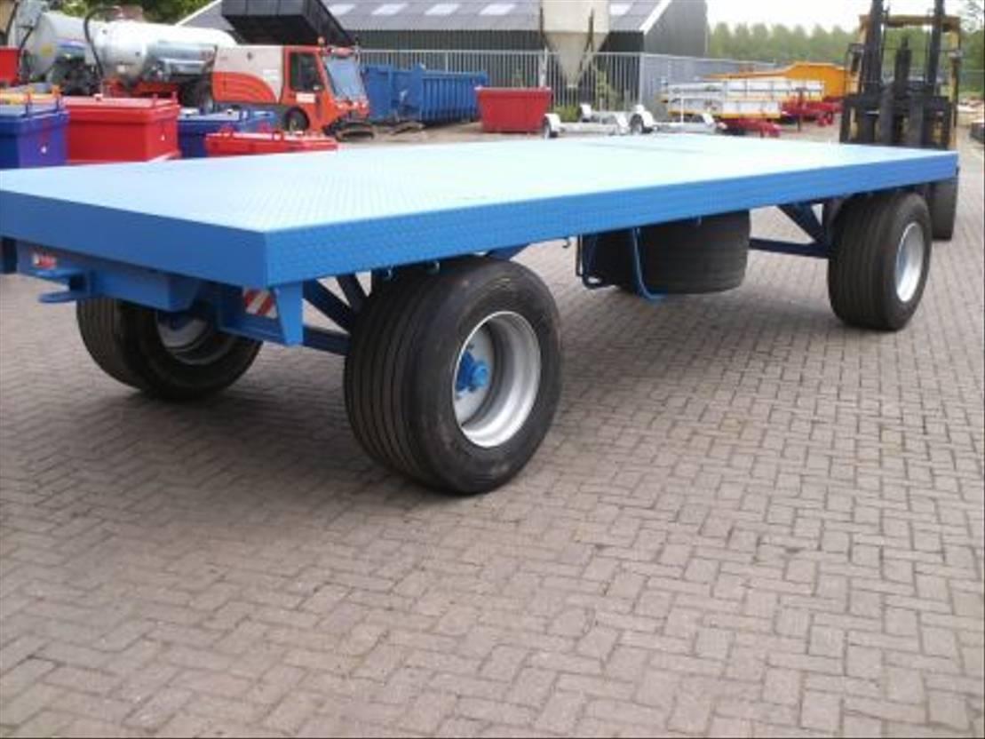 platte aanhanger vrachtwagen Diversen Platte wagens