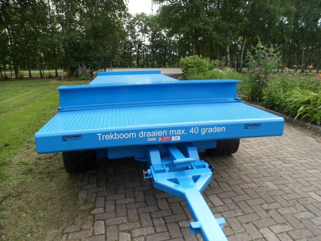 platte aanhanger vrachtwagen Diversen Zwaar transportwagen