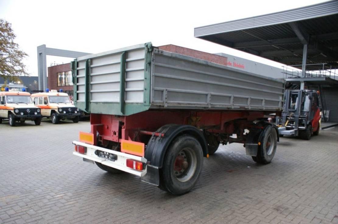 driezijdige kipper vrachtwagen aanhanger Diversen Stift 3 Seiten Kipanhanger 1965