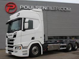 containersysteem vrachtwagen Scania R520 NEW HOOKLIFT 2017
