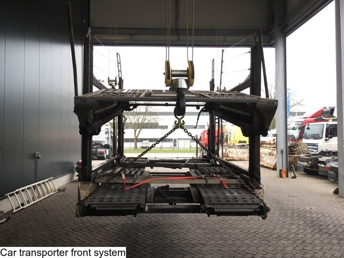 Opbouw vrachtwagen onderdeel Rolfo Car transporter front system 2007